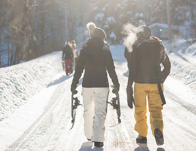 When is it safe to Ski after a baby