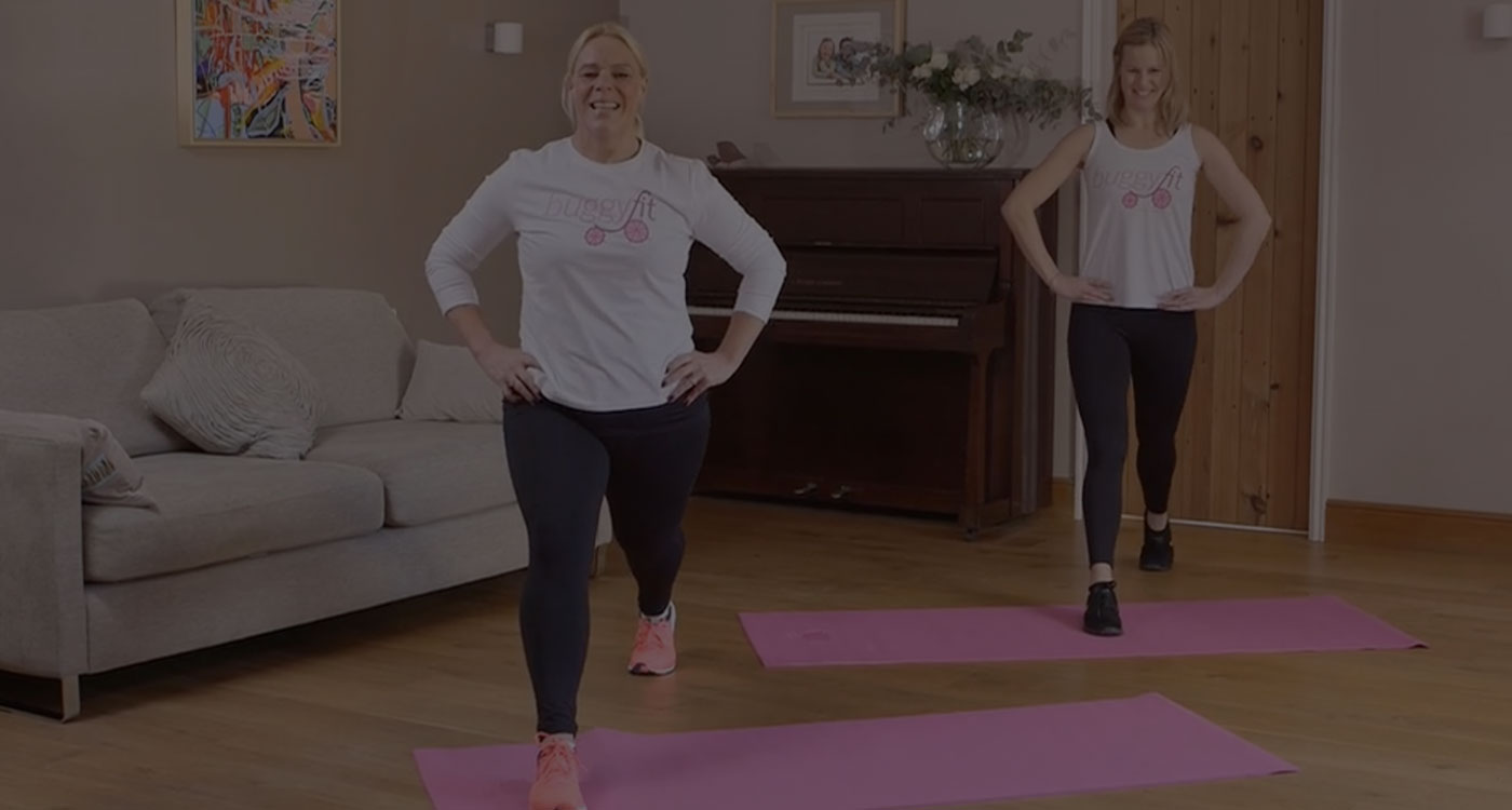 Struggling to get to class? Try Buggyfit at home!